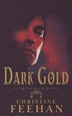 2007 Book Cover for Dark Gold