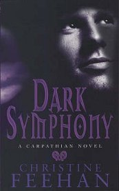 2007 Book Cover for Dark Symphony by Christine Feehan