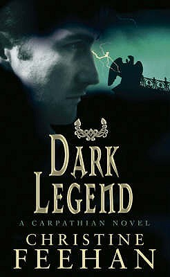 2007 Book Cover for Dark Legend by Christine Feehan