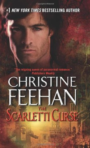 2013 Book Cover for Scarletti Curse by Christine Feehan