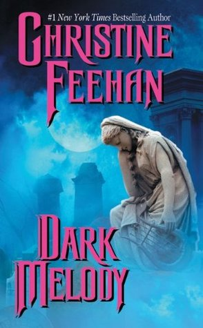 2003 Book Cover for Dark Melody by Christine Feehan