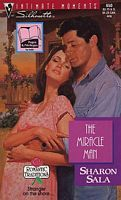 This is the 1995 book cover for the Miracle Man! This is the kindle and paperback edition cover.