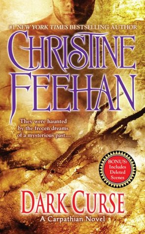 2009 Book Cover for Dark Curse by Christine Feehan