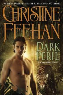 2010 Book Cover for Dark Peril by Christine Feehan