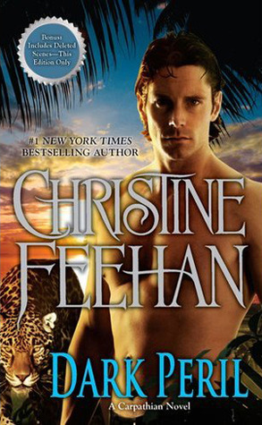 2011 Book Cover for Dark Peril by Christine Feehan
