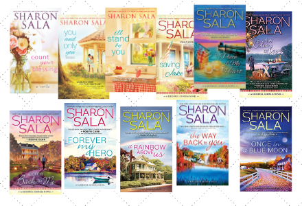 Book Covers for the Blessings Georgia Series by Sharon Sala