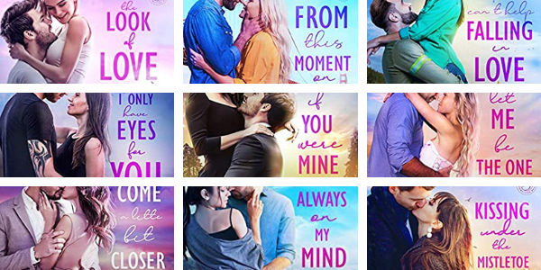 Book Covers for the San Francisco Sullivans; this is the first 9 books in the Sullivans Series by Bella Andre