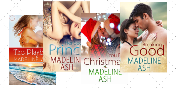 The book covers for the Rags to Riches Series by Madeline Ash.
