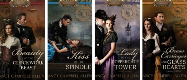 The Steampunk Proper Romance Series by Nancy Campbell Allen