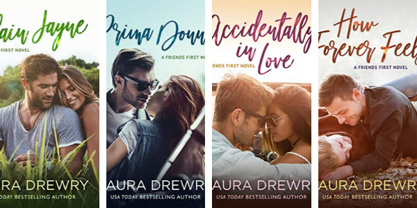 Click here to see the individual book pages for the Friends First Series by Laura Drewry.
