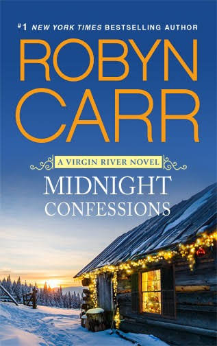 Found a book cover for just Midnight Confessions by Robyn Carr.