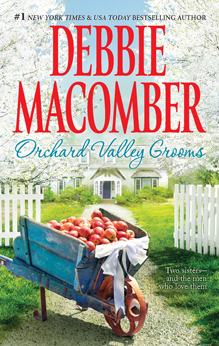 2010 book cover for Orchard Valley Grooms by Debbie Macomber