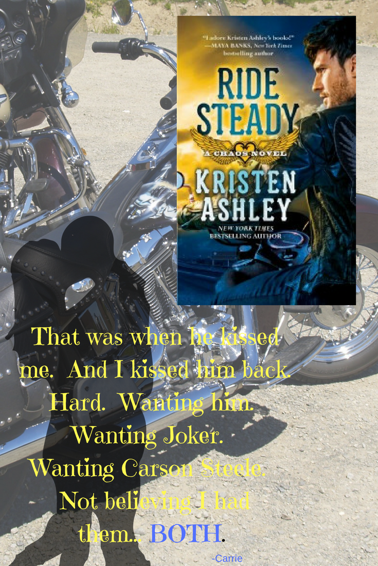 Graphic for Ride Steady by Kirsten Ashley