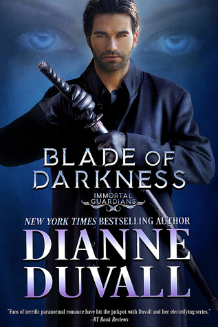 Blade of Darkness, book 7 in the Immortal Guardians Series