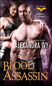 2014 Book Cover for Blood Assassin by Alexandra Ivy