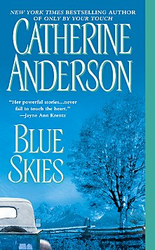 Original Book Cover for Blue Skies by Catherine Anderson