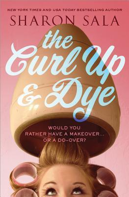 Curl Up & Dye is the 1st book in the Blessings Georgia Series by Sharon Sala.  This is the 2013 book cover.