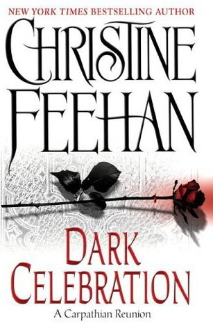 Dark Celebration by Christine Feehan. This is the 2006 Kindle and paperback Edition.
