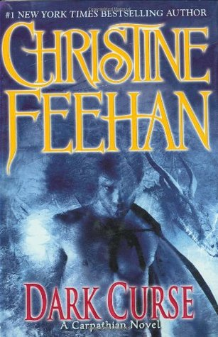 2008 Book Cover for Dark Curse by Christine Feehan