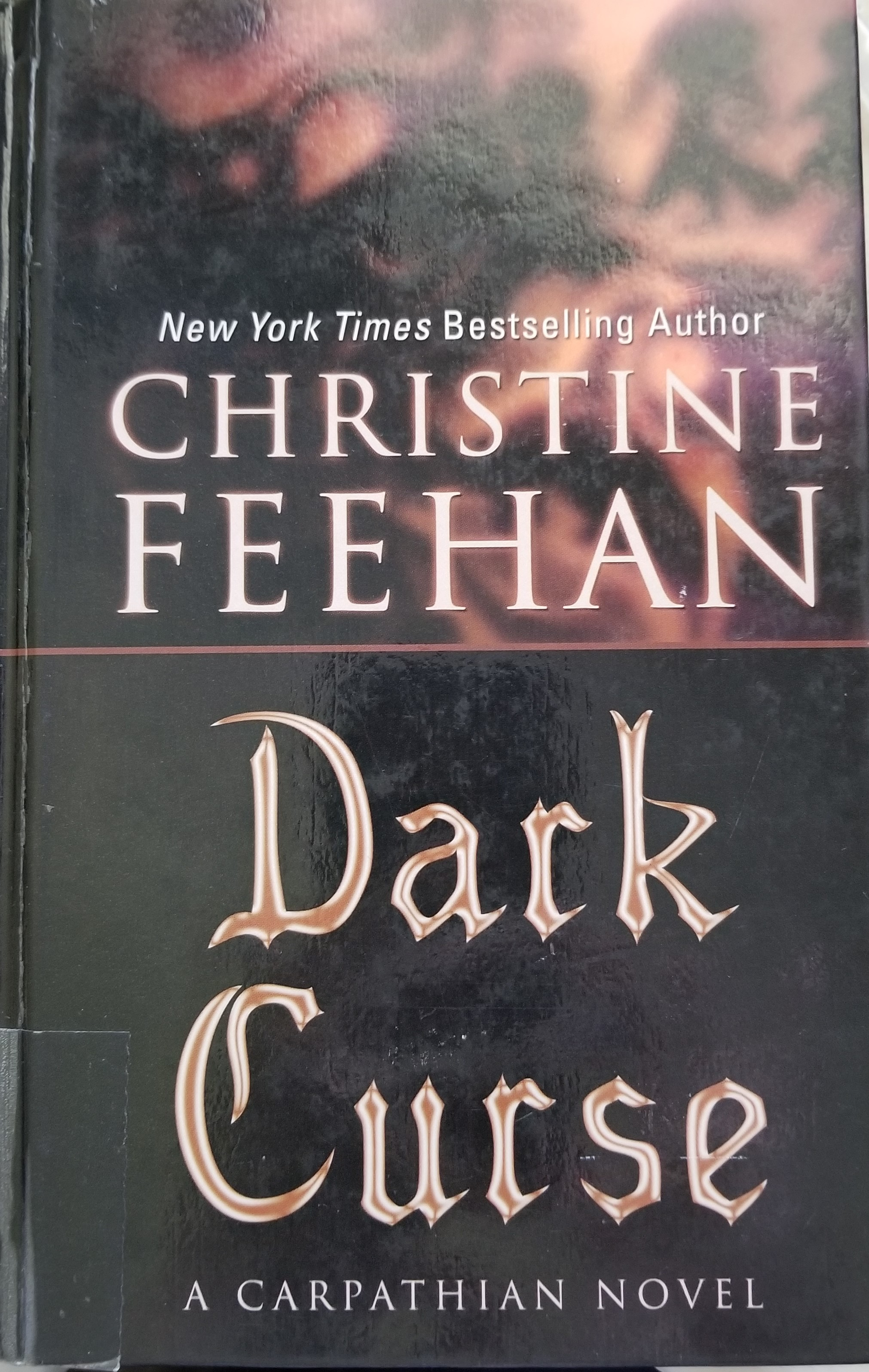 I found yet another book cover for Dark Curse at the library!!