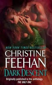 2010 Book Cover for Dark Descent by Christine Feehan
