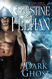 Dark Ghost by Christine Feehan; this is the 2015 Hardcover and Kindle Edition while being the 2016 Paperback Cover!