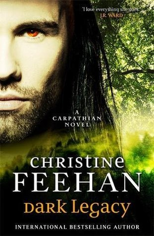 2017 UK Hardcover and Kindle Edition for Dark Legacy by Christine Feehan