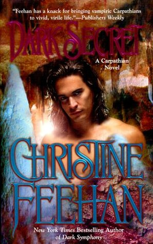 2005 Book Cover for Dark Secret by Christine Feehan