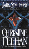 2003 Book Cover for Dark Symphony by Christine Feehan