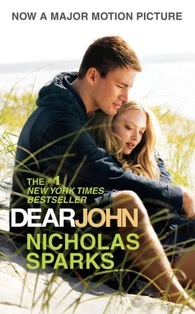 This is the 2009 Book Cover for Dear John when the movie was due out in 2010.