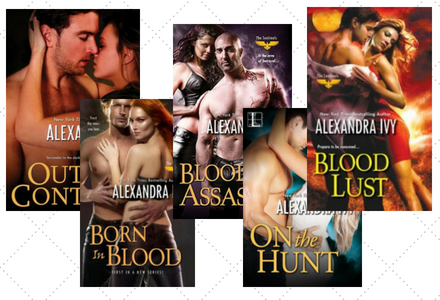 Click here to see the individual book pages for the Sentinels Series by Alexandra Ivy!!