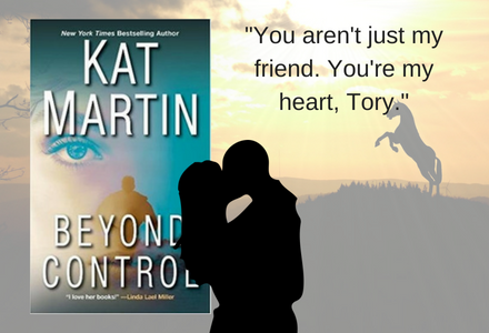 Click here to see a short video to share more #bookdetails about this great romance book, Beyond Control by Kat Martin!