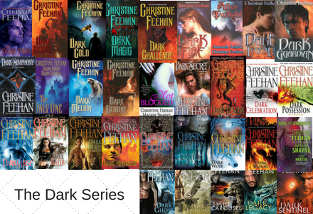 Click here to see the individual book pages for the Dark Series by Christine Feehan.