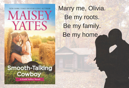 Luke is a smooth-talking cowboy when he must convince Olivia that he loves her.