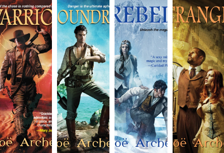Check out the individual book pages for the Blades of the Rose Series by Zoe Archer!