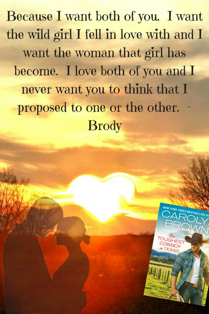 Graphic for Toughest Cowboy by Carolyn Brown