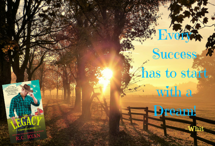 Book Quote: Every Success has to start with a Dream!