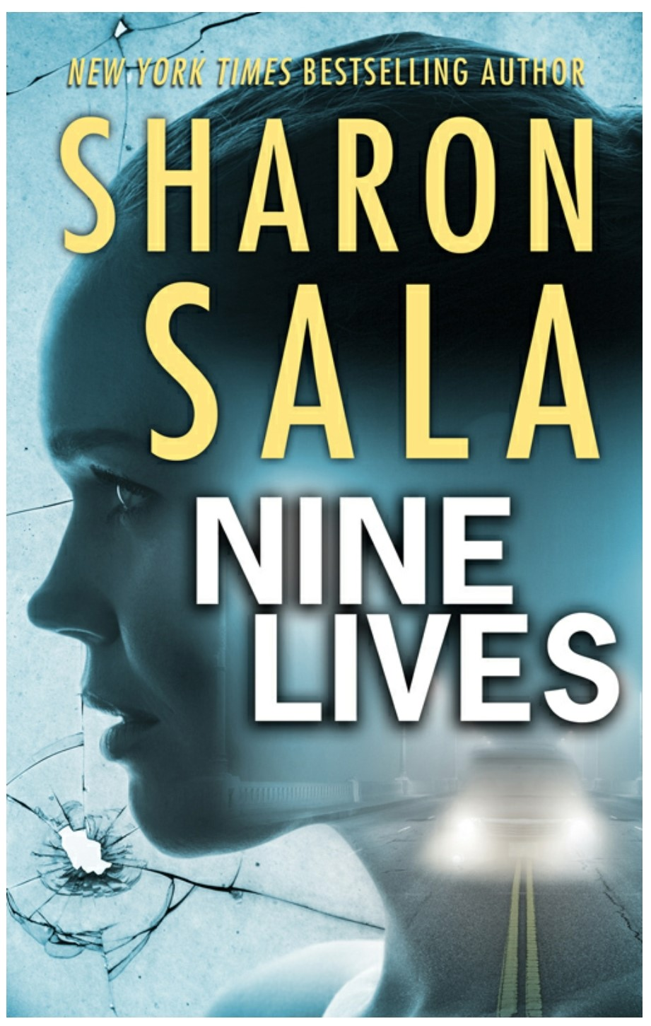 2018 Book Cover for Nine Lives by Sharon Sala