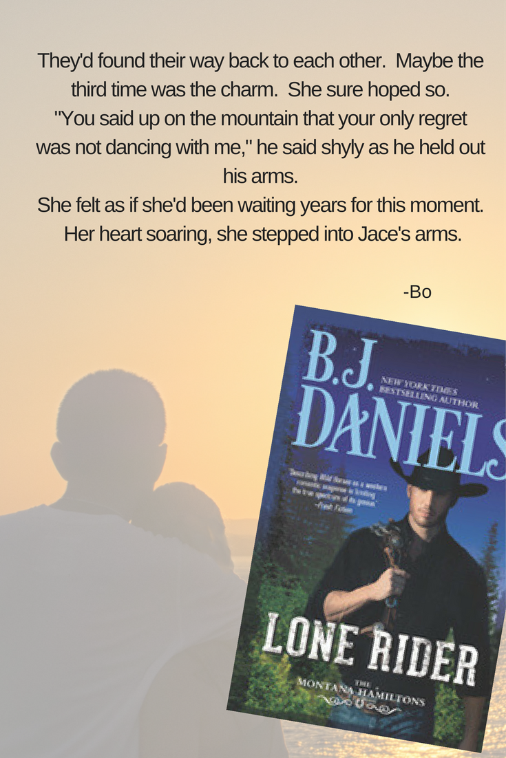 Graphic for Lone Rider by BJ Daniels