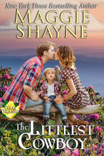 Book Cover for The Littlest Cowboy by Maggie Shayne