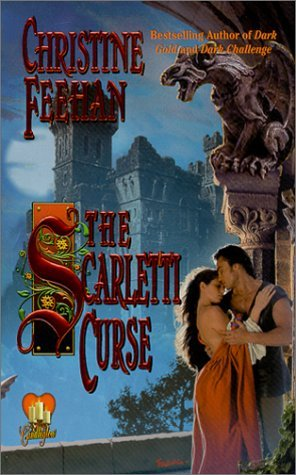 2001 Book Cover for Scarletti Curse by Christine Feehan