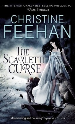 2010 Book Cover for Scarletti Curse by Christine Feehan