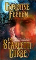 2010 Kindle Book Cover for Scarletti Curse by Christine Feehan