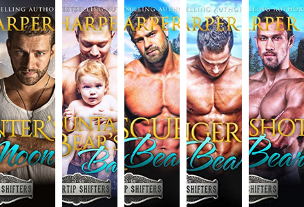 Check out the Silvertip Shifters Series by Jk Harper!!