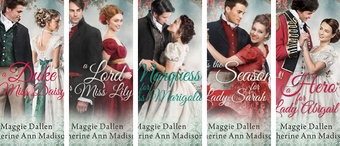 The Wallflower's Wish Series by Maggie Dallen and Katherine Ann Madison
