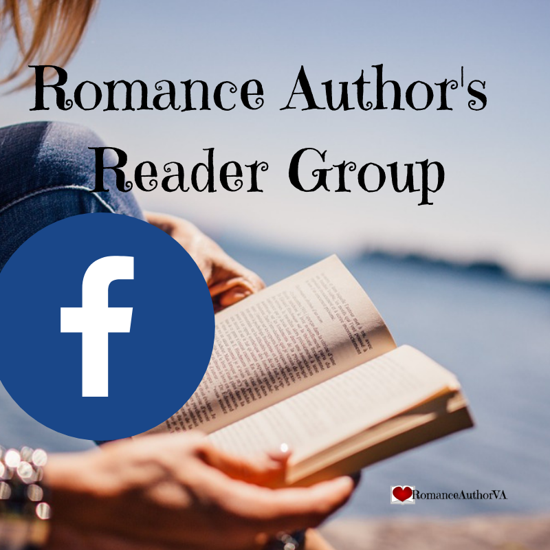 Click here to join the Romance Author's Reader Facebook Group if you're willing to help Romance Authors by beta reading or by reviewing their books!!