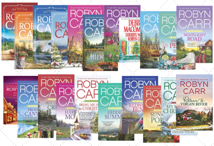 Book Covers for the Virgin River Series by Robyn Carr