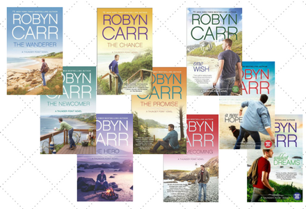 Book covers for the Thunder Point Series