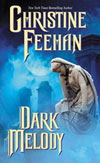 2010 Kindle Book Cover for Dark Melody by Christine Feehan