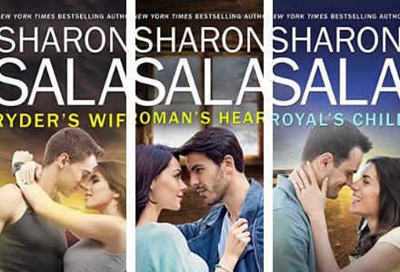Book Covers for the Justice Way Series by Sharon Sala